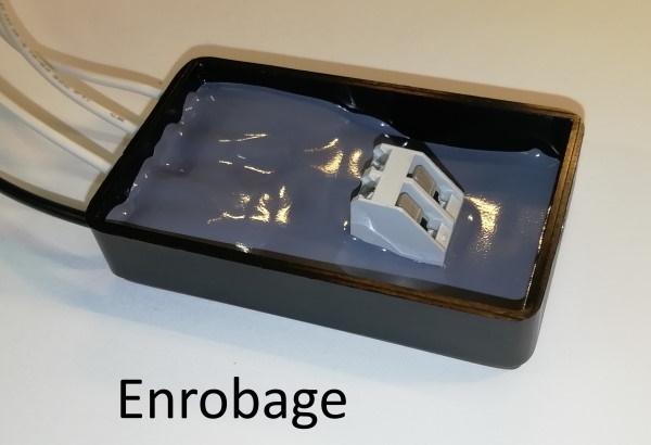 Enrobage de carte électronique